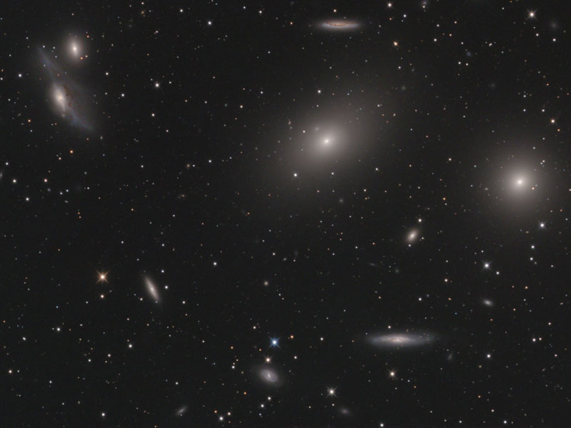 In the Heart of the Virgo Cluster