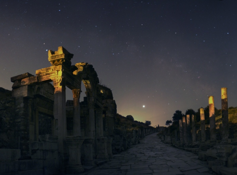 Jupiter over Ephesus