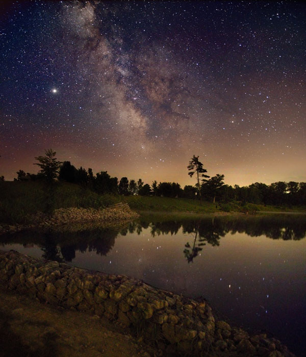 The Milky Way Over Ontario
