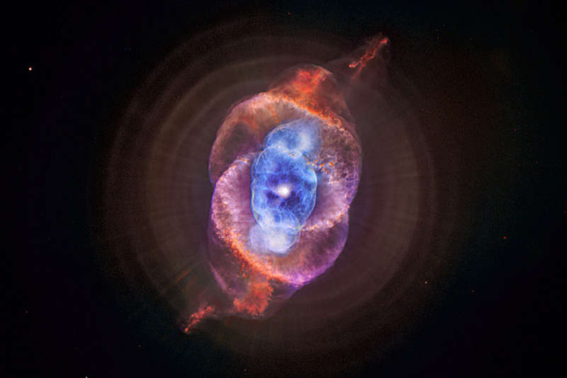 X Rays from the Cats Eye Nebula