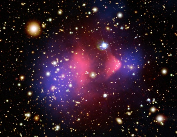 The Matter of the Bullet Cluster