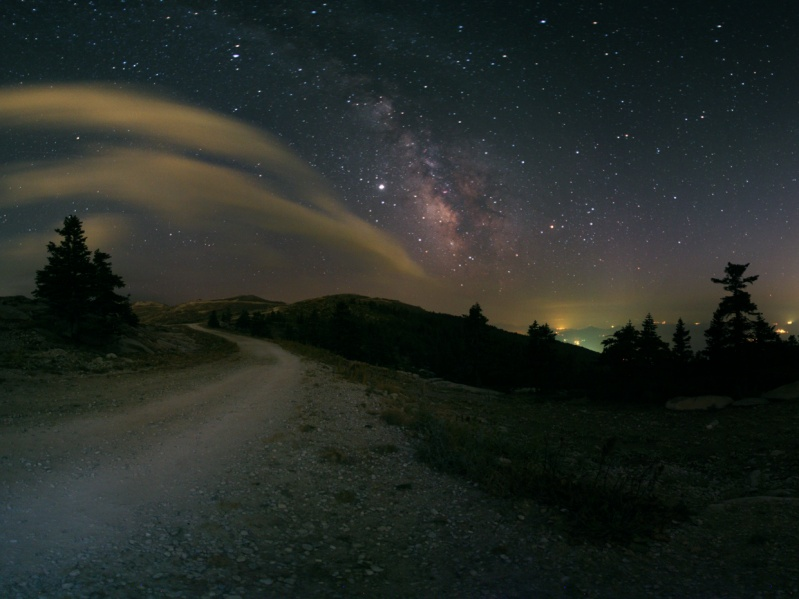 Milky Way Road Trip