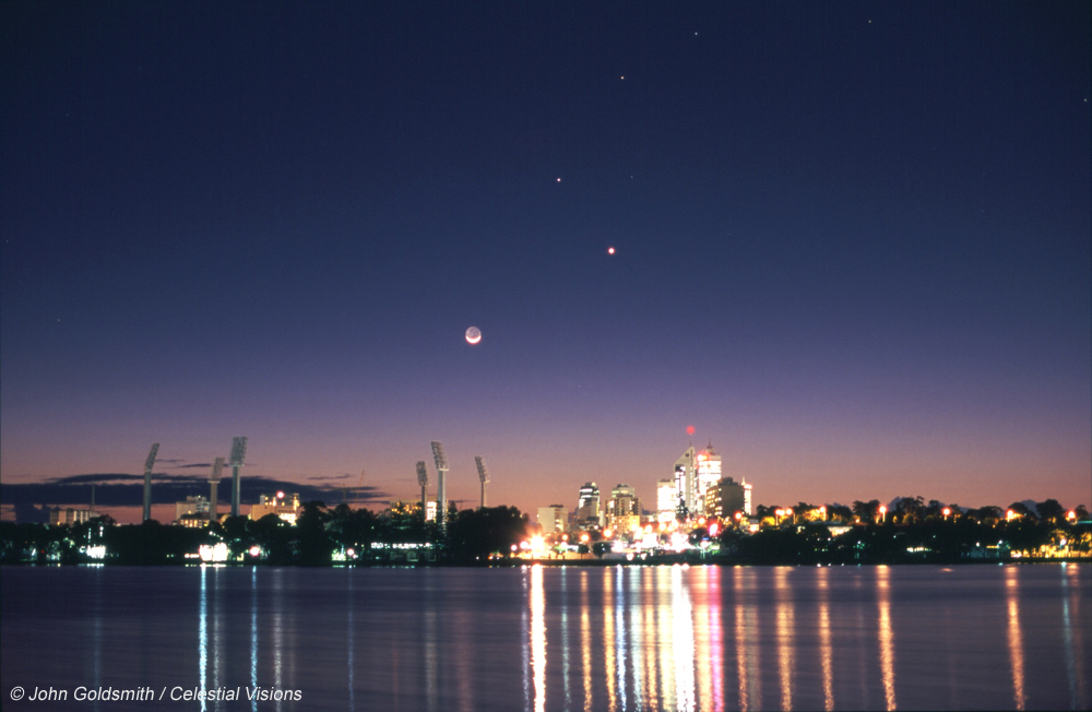 Planets over Perth