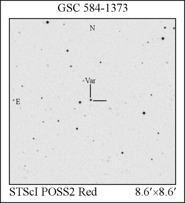 New EW Variable Star GSC 0584-01373