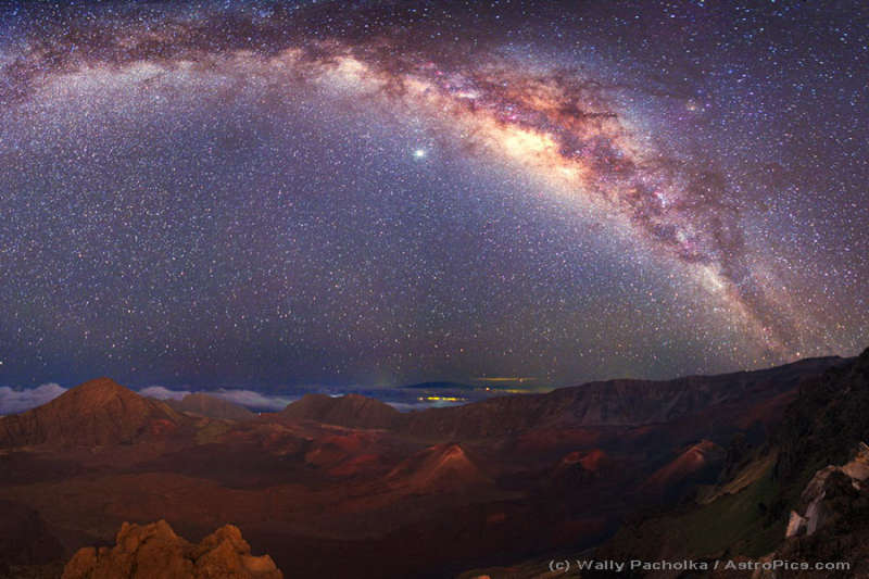 The Milky Way Over Mauna Kea