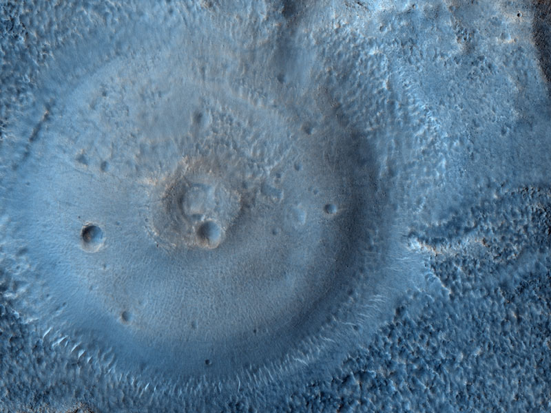 Possible Mud Volcanoes on Mars
