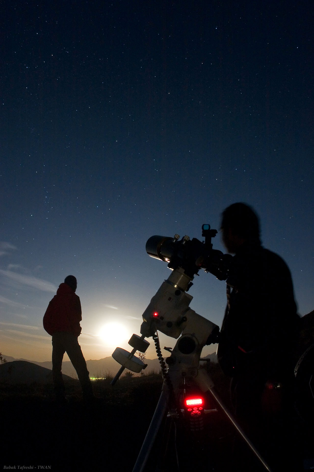 Star Party on Planet Earth