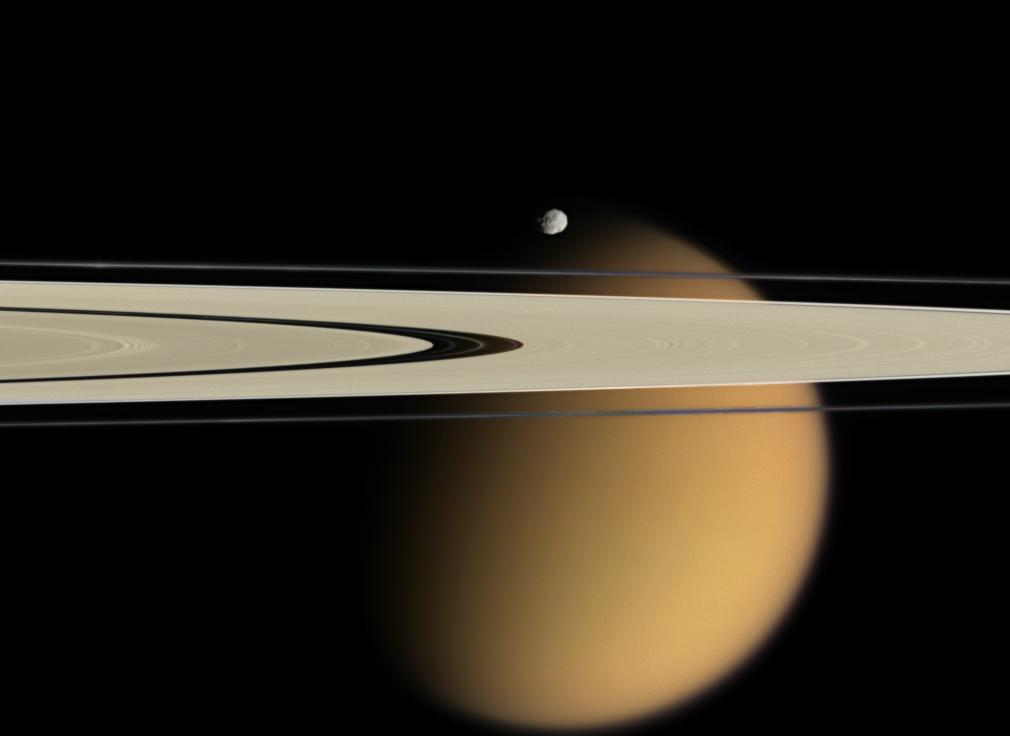 Titan Beyond the Rings