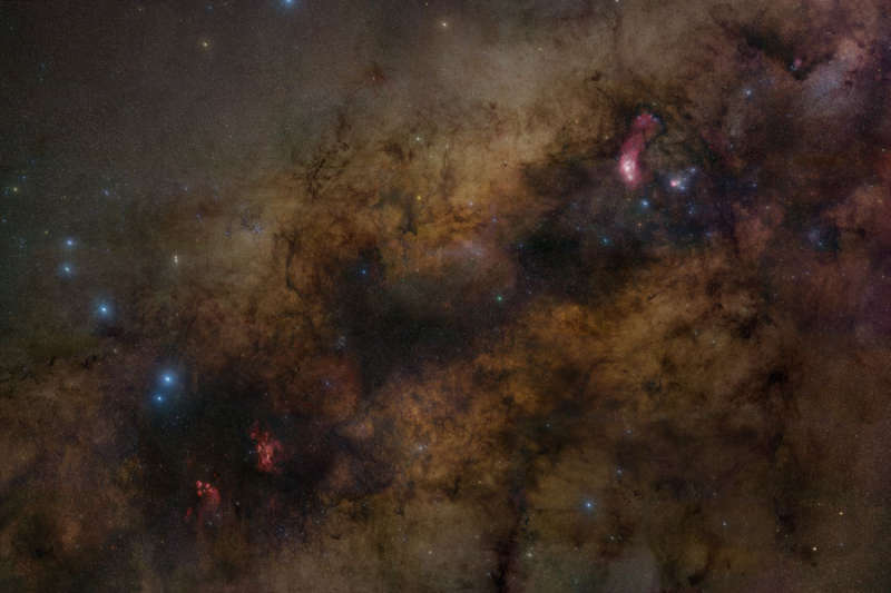 Sagittarius and the Central Milky Way