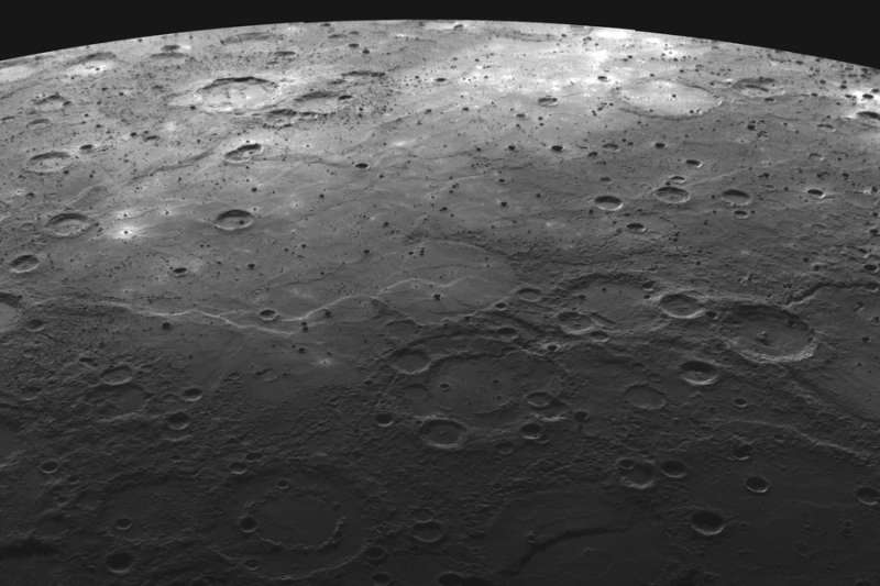 Volcanic Terrain on Mercury