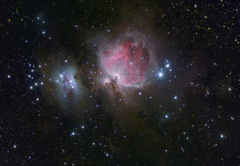 Classic Orion Nebulae