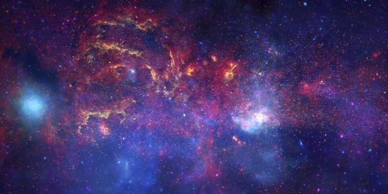 Great Observatories Explore Galactic Center