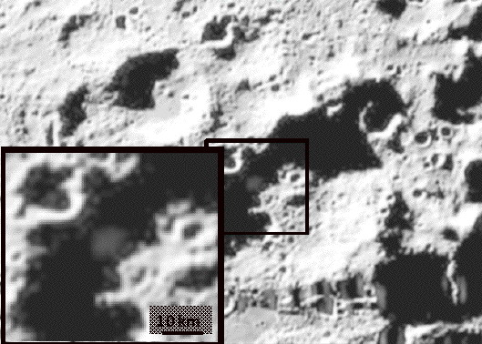 Water Discovered in Moon Shadow