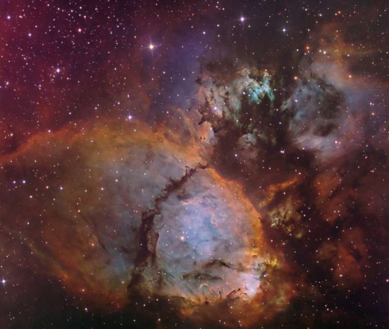 The Colors of IC 1795