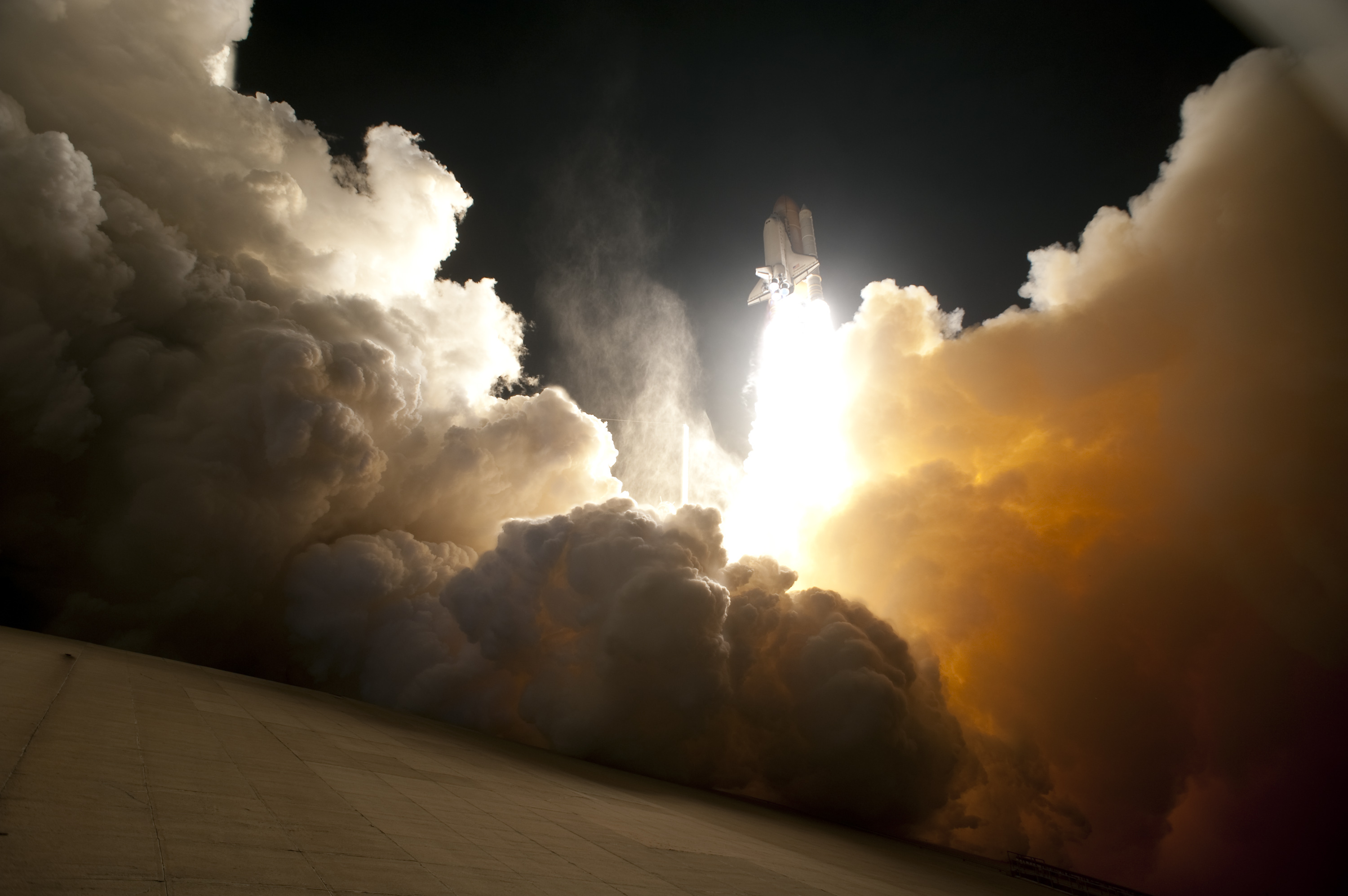 Night Launch of the Space Shuttle Endeavour