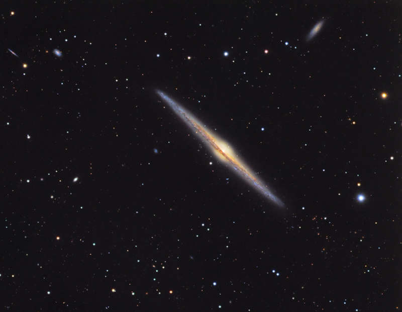 NGC 4565: Galaxy on Edge