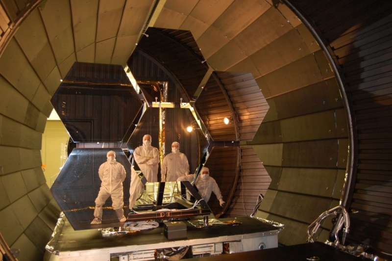 JWST: Mirrors and Masked Men