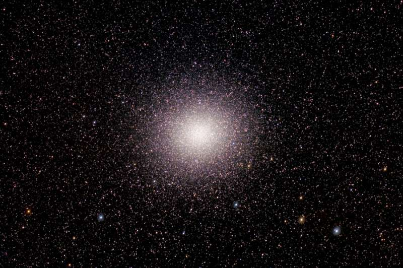 Millions of Stars in Omega Centauri