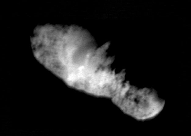 Comet Borrelly's Nucleus
