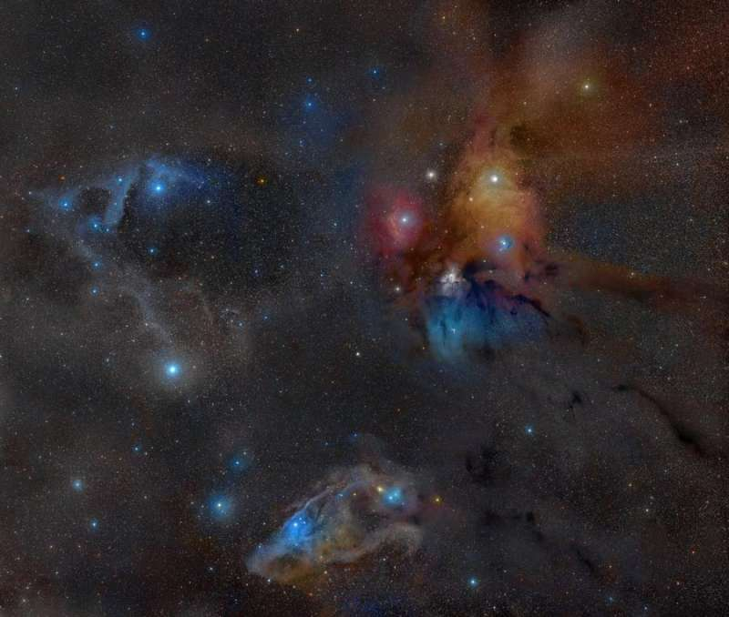 Rho Ophiuchus Wide Field
