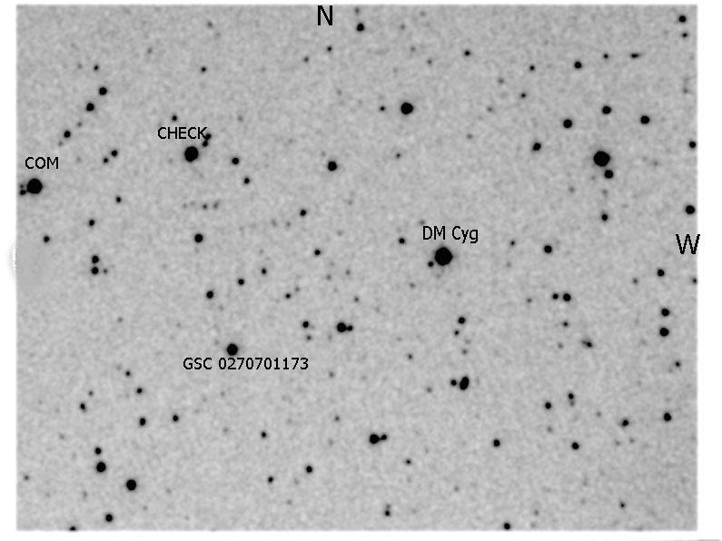New Eclipsing Variable Star GSC 02707-01173 in the Field of DM Cyg