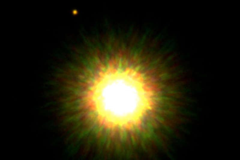Companion of a Young, Sun-like Star Confirmed