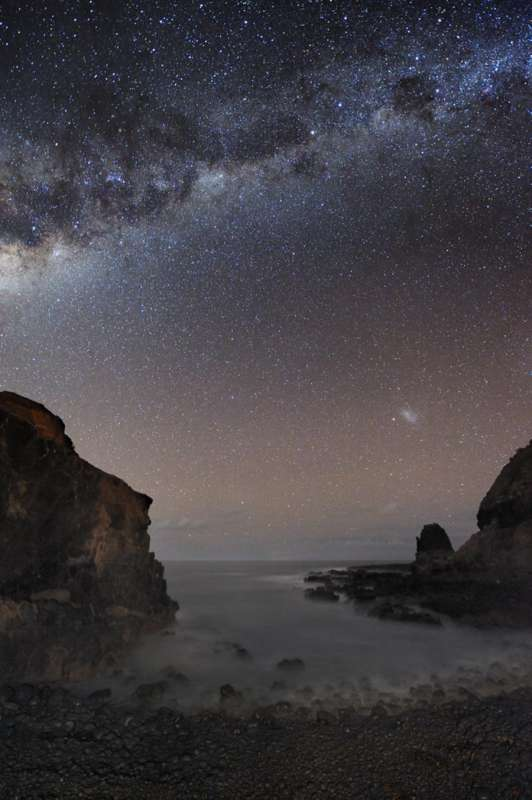 The Milky Way Over Pulpit Rock