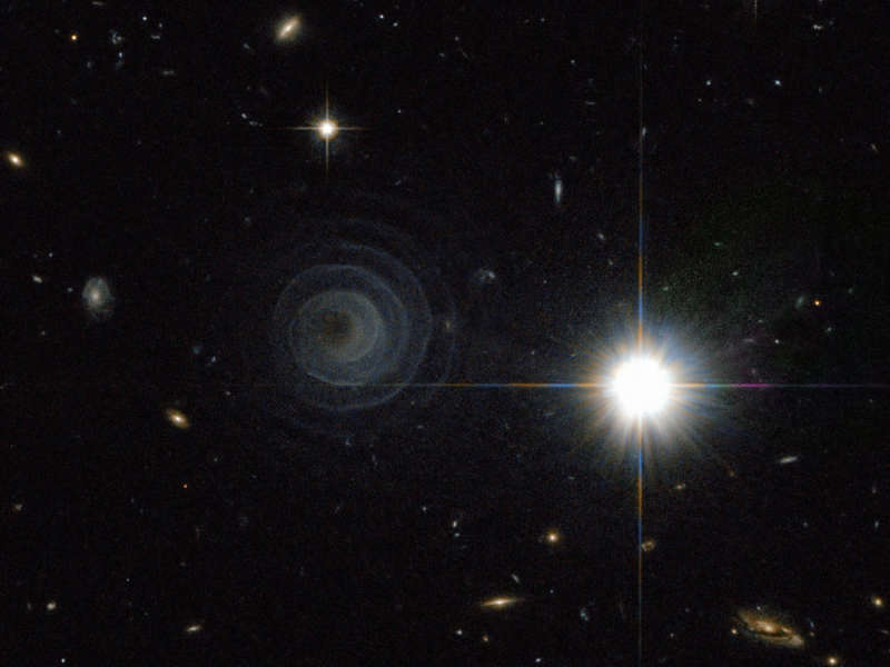 An Extraordinary Spiral from LL Pegasi