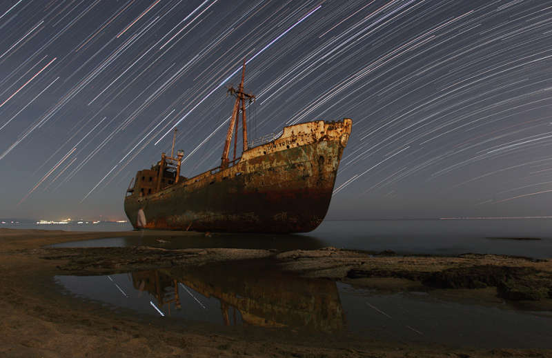 Star Trails and the Captain s Ghost
