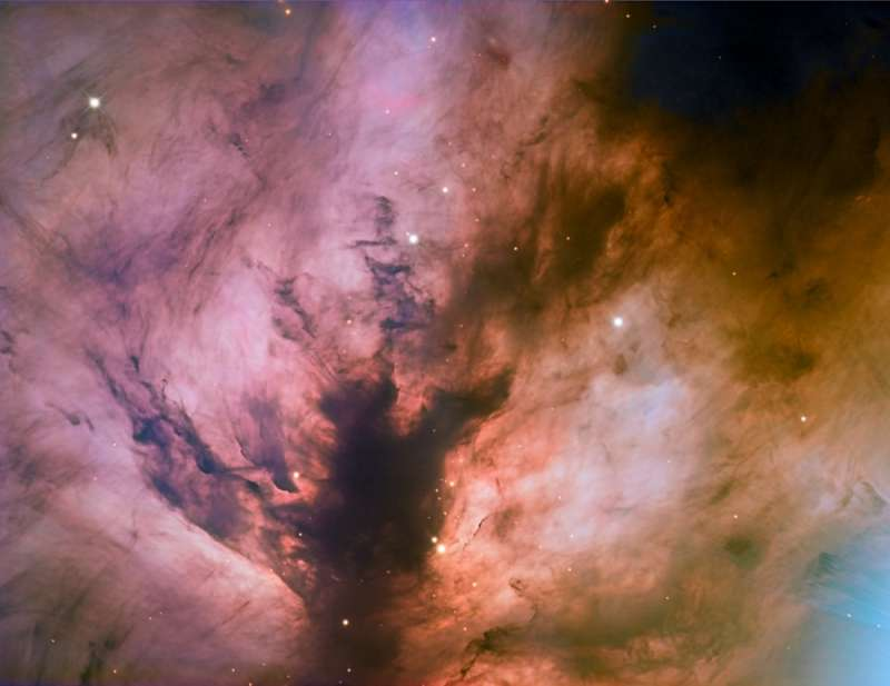 Flame Nebula Close Up