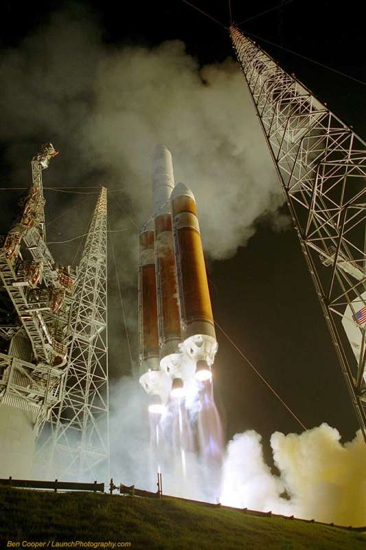 Launch of a Delta IV Heavy