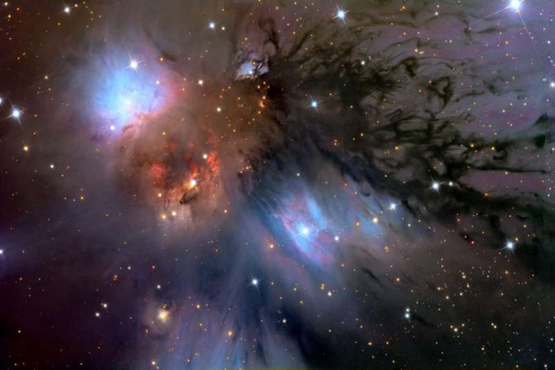 Still Life with NGC 2170