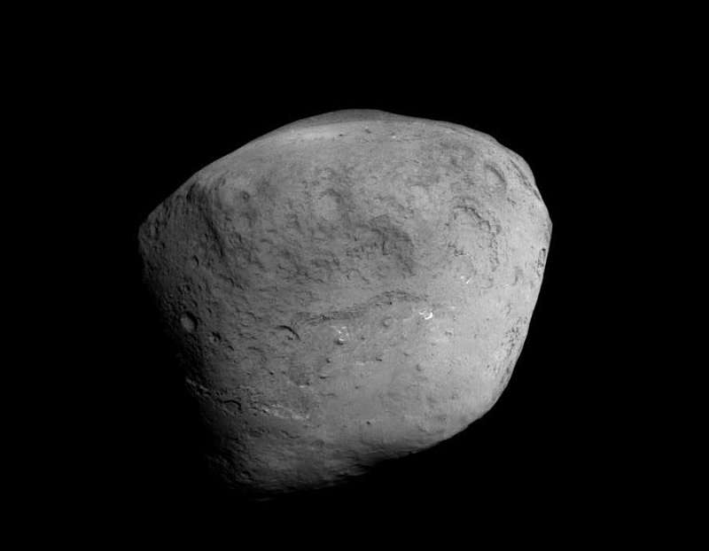 Comet Tempel 1 from Stardust NeXT Spacecraft