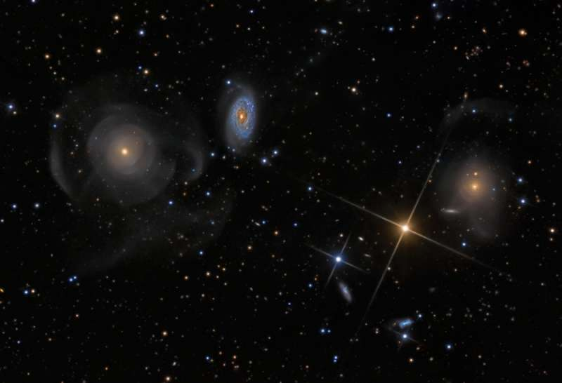Shell Galaxies in Pisces