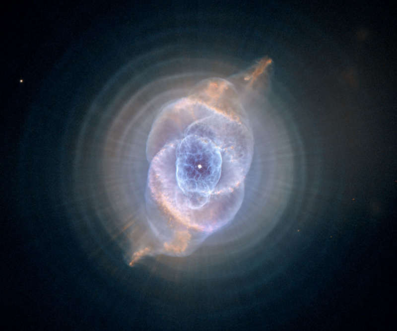 The Cat s Eye Nebula from Hubble