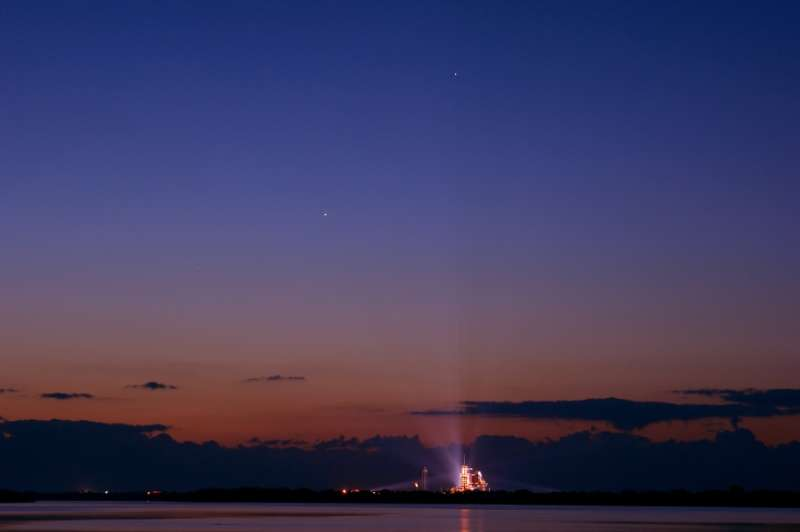 Planets, Endeavour at Dawn