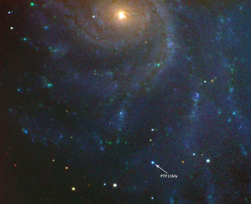 A Young Supernova in the Nearby Pinwheel Galaxy