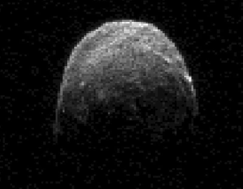 Asteroid 2005 YU55 Passes the Earth