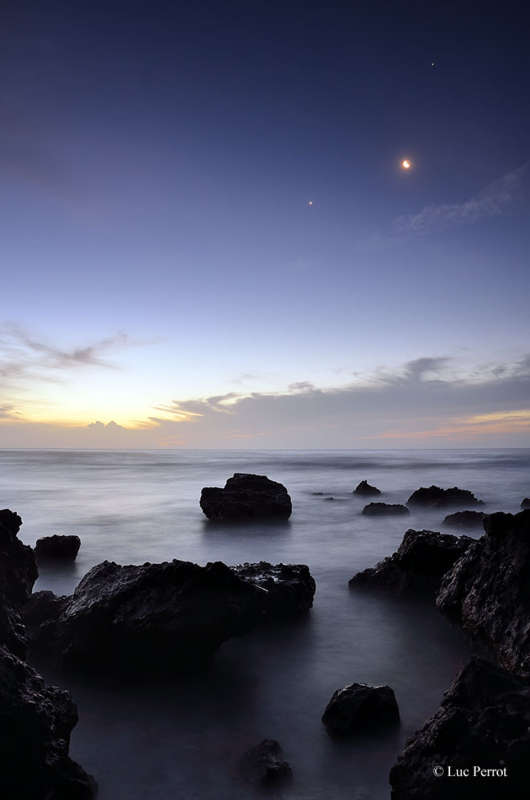 Conjunction Over Reunion Island