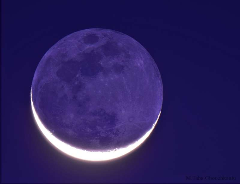 The New Moon in the Old Moon s Arms