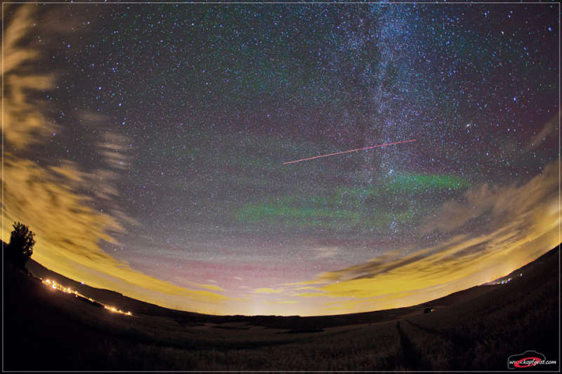 Airglow Over Germany