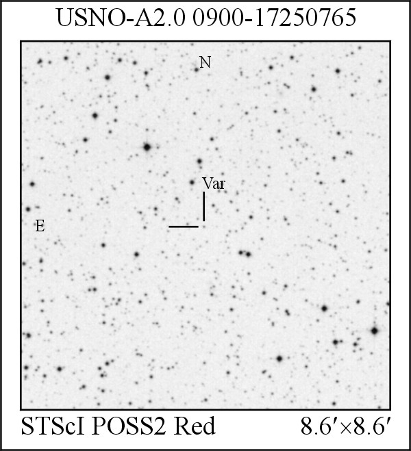 New UV-type Variable Star USNO-A2.0 0900-17250765