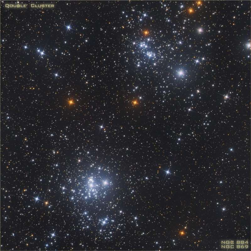 A Double Star Cluster