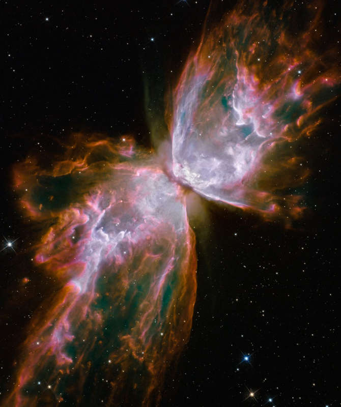 NGC 6903: The Butterfly Nebula