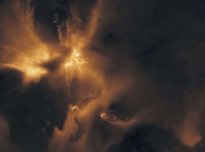 A Particle Beam Jet forms HH 24