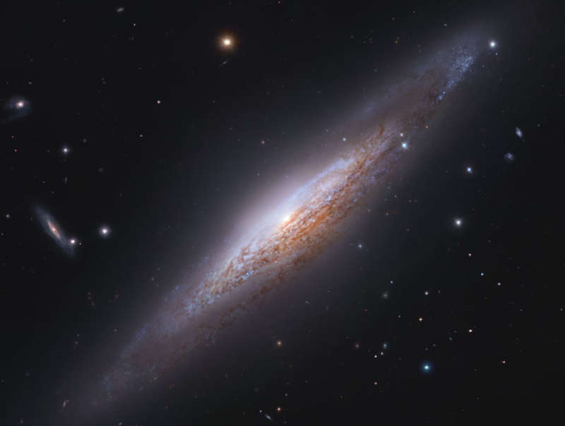 NGC 2683: Edge On Spiral Galaxy