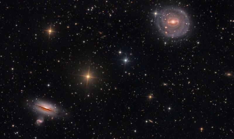 NGC 5101 and Friends