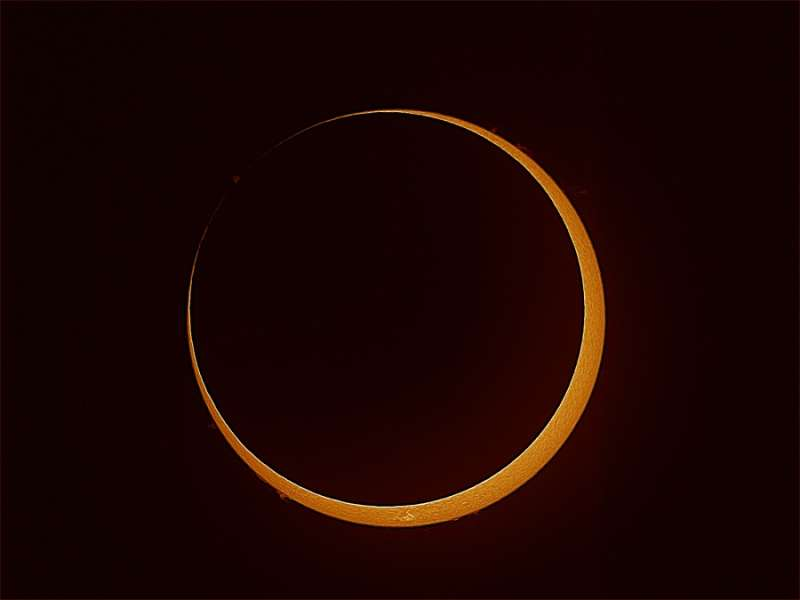 Southern Annular Eclipse