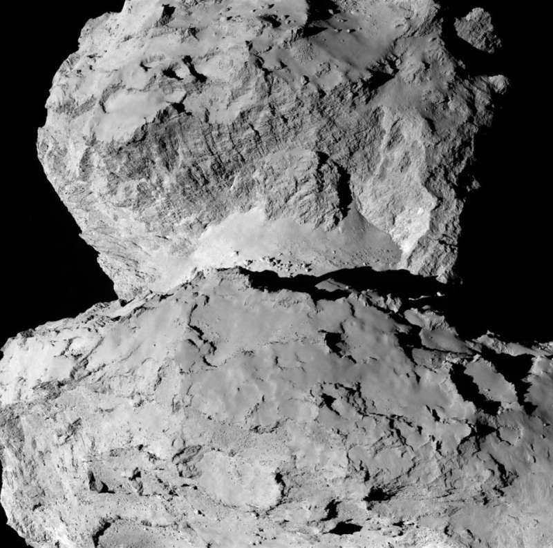 Contrasting Terrains on Comet Churyumov Gerasimenko