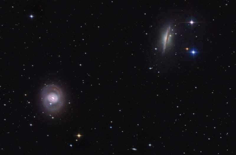 Cetus Duo M77 and NGC 1055